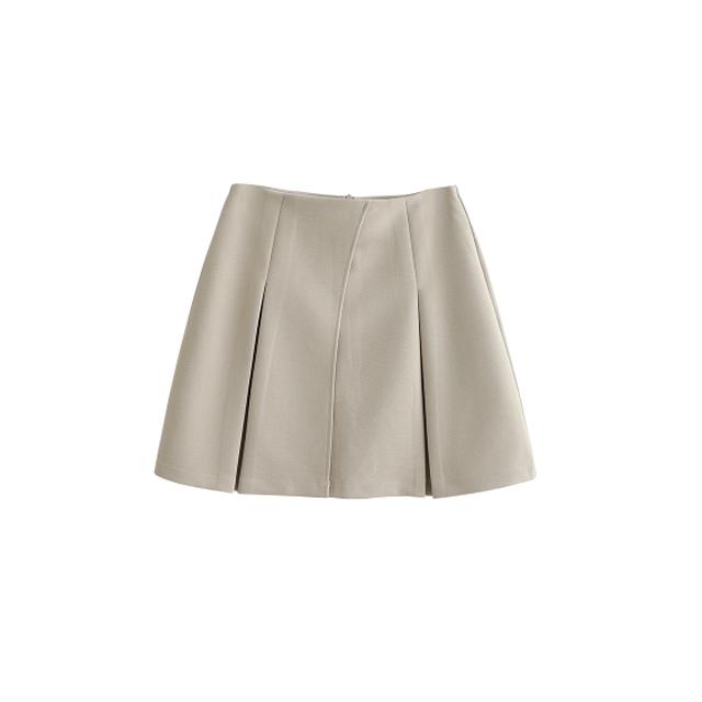 シンプル台形スカート