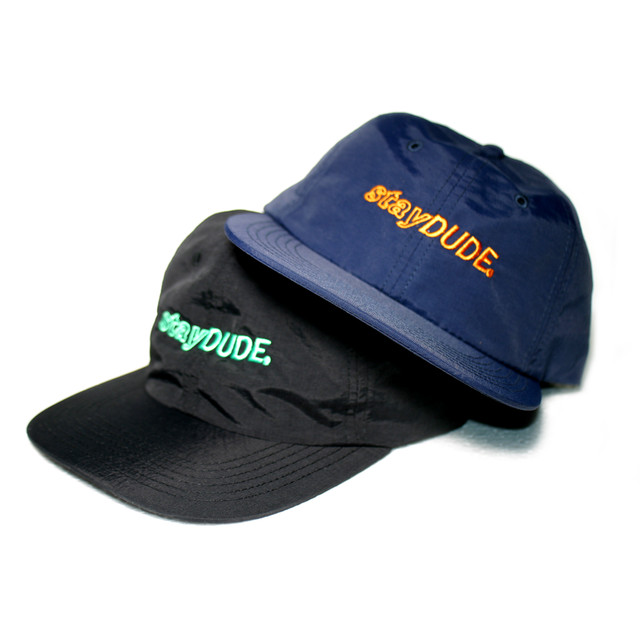 【STAY DUDE COLLECTIVE】Embroidered Shear Logo Nylon BB Cap 2020