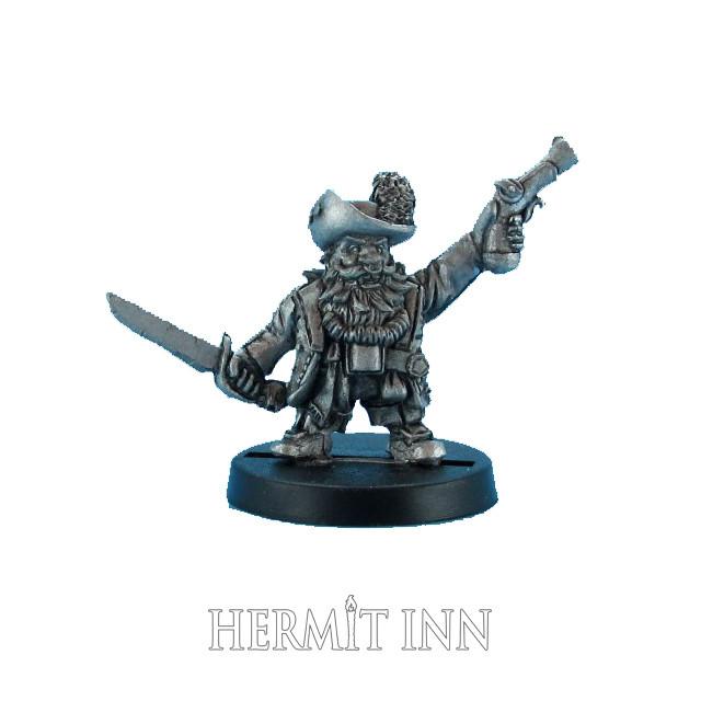ドワーフの海賊船長 - メイン画像