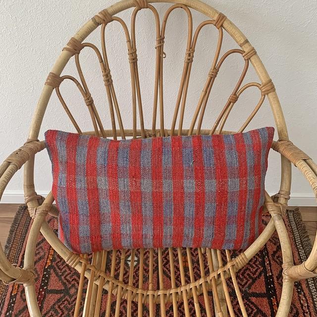 手織り キリム クッション 長方形 C090