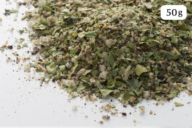 アジアンミックス 50g(カンポットペッパー、海塩、こぶみかんの葉)