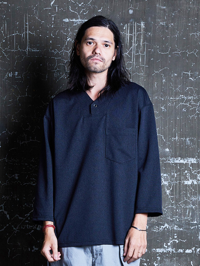 EGO TRIPPING (エゴトリッピング) ROMANIAN ARMY SHIRTS / moku.BLACK 663653-05