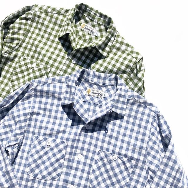 "Yellow Rat ""Round Collar L/S Open Shirts"""