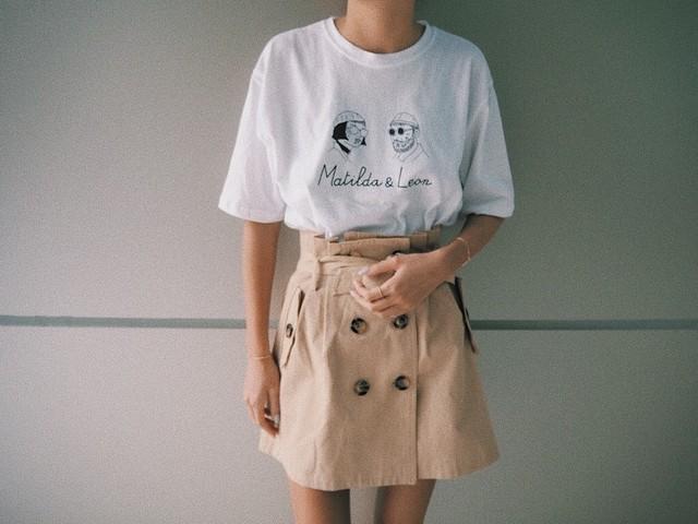 MACHIRUDA × LEON T-shirt