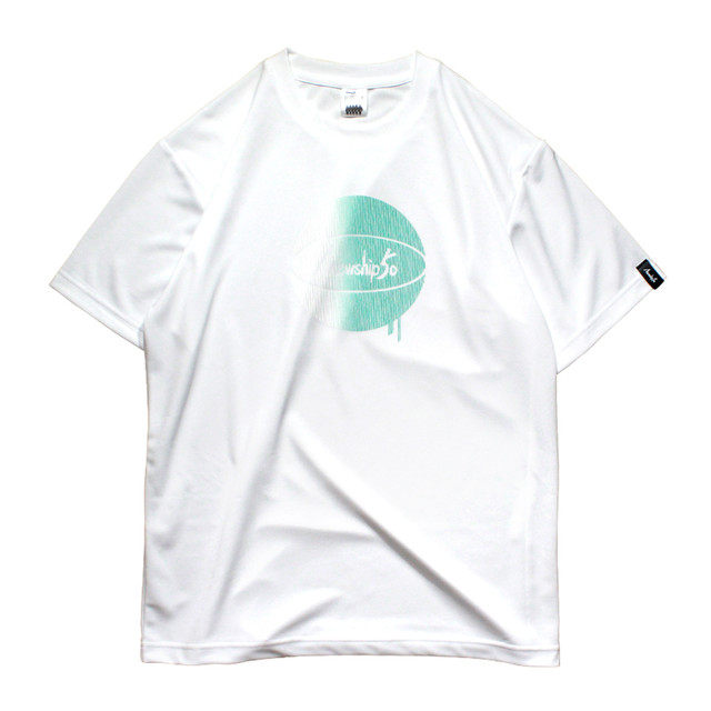 G.BALL invisible stripe S/S PL <White×B.Green> - メイン画像