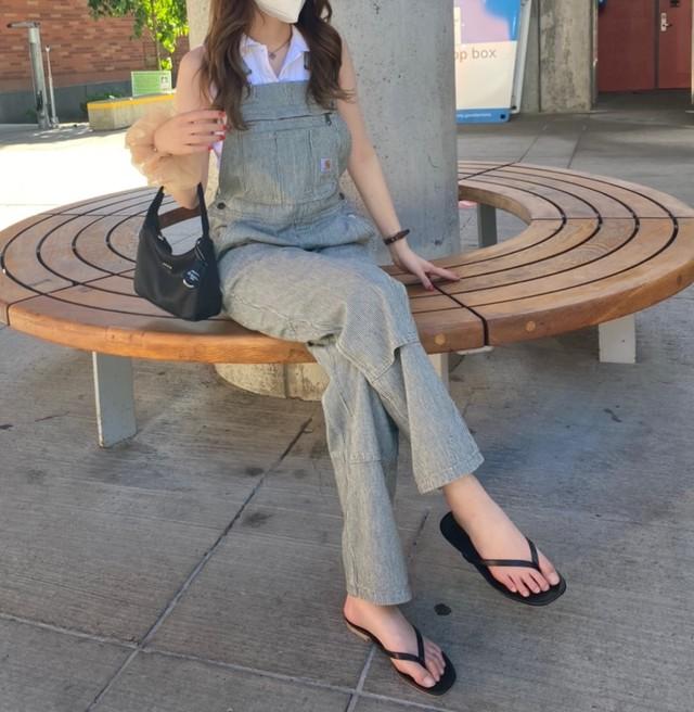DAYNYC flip flop sandal(black)