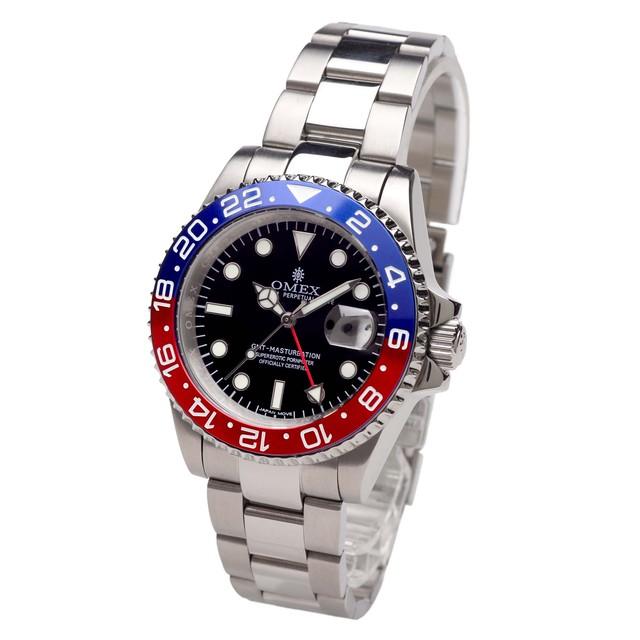 OMEX GMT-MASTURBATION オメックス GMTマスターベーション メンズ 男性 腕時計 スイス製 ムーブメント