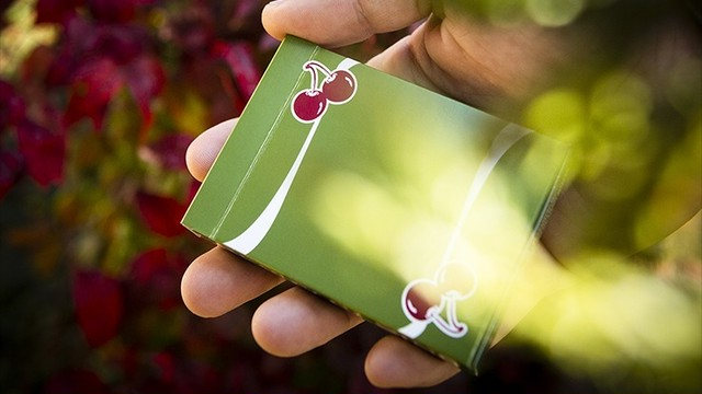 Cherry Casino Fremonts (Sahara Green) Playing Cards by Pure Imagination Projects