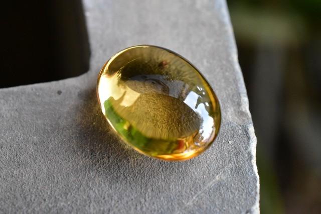 透明な金貨★黄水晶★シトリン ルース cit001