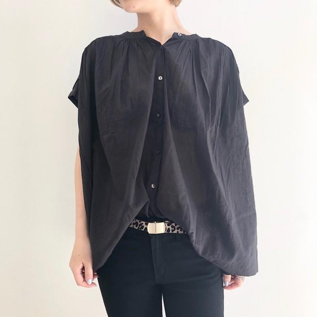 【 Valance Select 】バンドカラーダーツシャツ