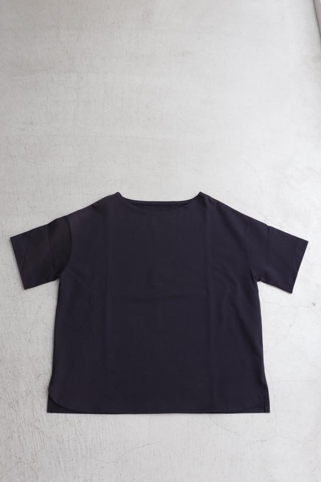 French Bull par Cion 【フレンチブル】コットンワイドTシャツ ホワイト/ネイビー/ブラック 01191