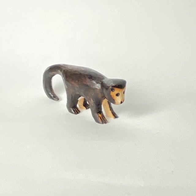 グアラニー族の動物 MACACO  さる 12.5cm