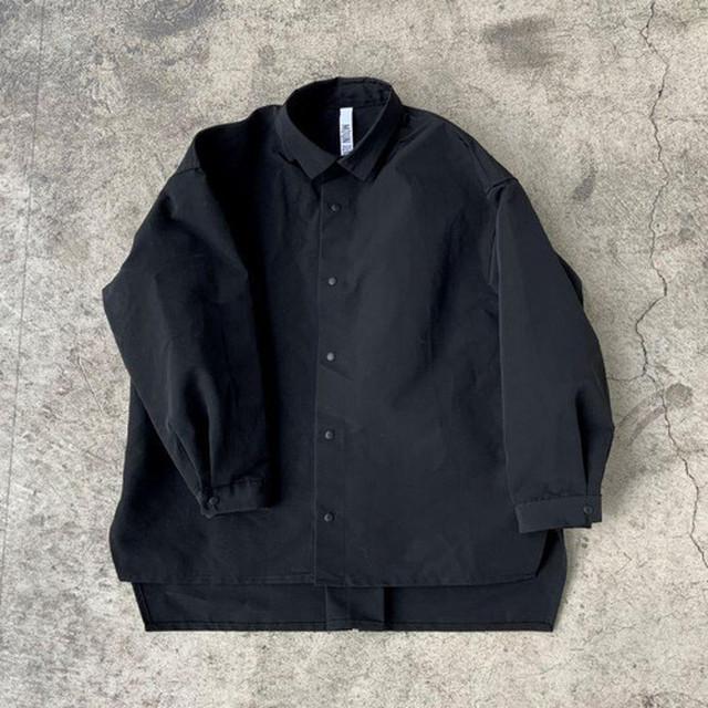 MOUN TEN. MOUNTEN. grosgrain shirts (black)[MT202004-a] 110/125/140 1点のみメール便可