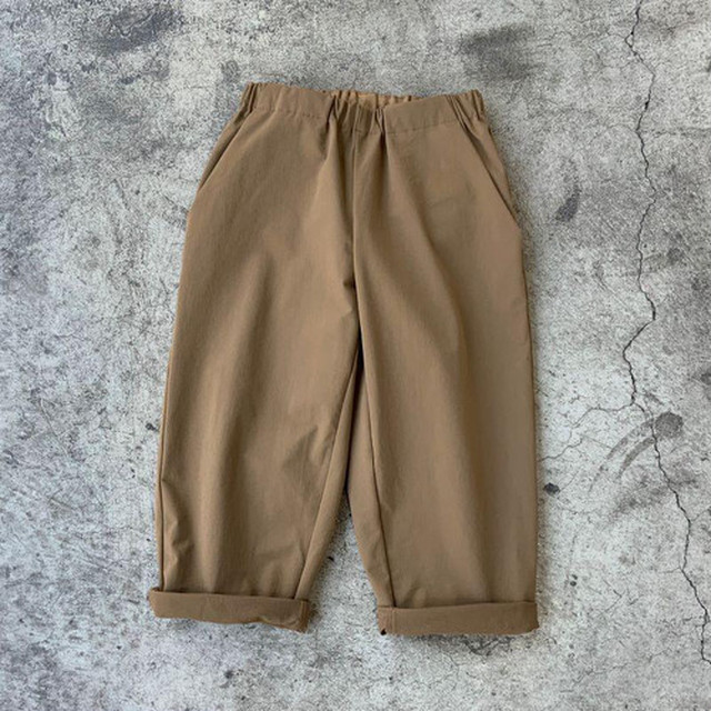MOUN TEN. double cloth stretch pants (coyote) [MT202009-a] 110/125/140