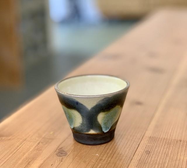 6寸皿コバルト チチチャン ノモ陶器製作所