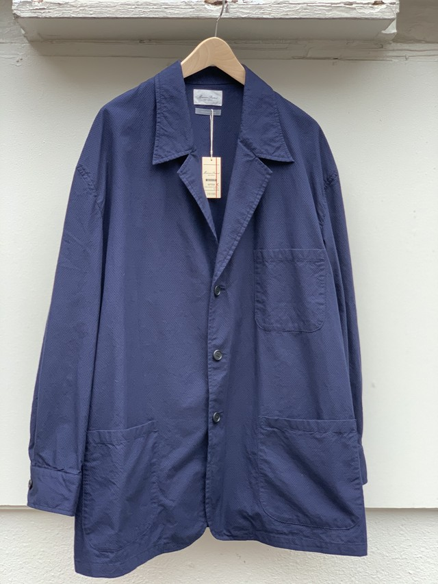 【Marvine Pontiak shirt makers】3 Button Shirt Jacket
