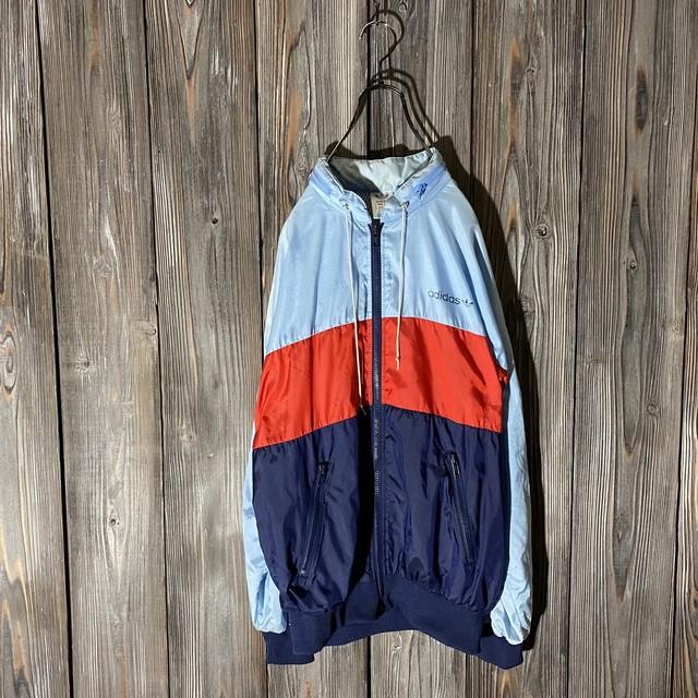 [adidas]three colors switching nylon jacket