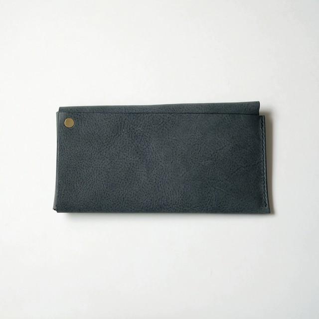 square long wallet - bk - nebbia