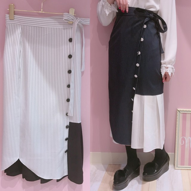 【THE FIFTH LABEL】CHERRY SKIRT