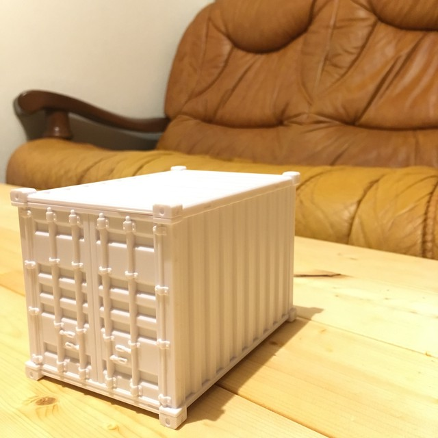BANK OF CONTAINER コンテナバンク white