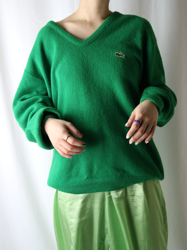 LACOSTE color sweater【5398】