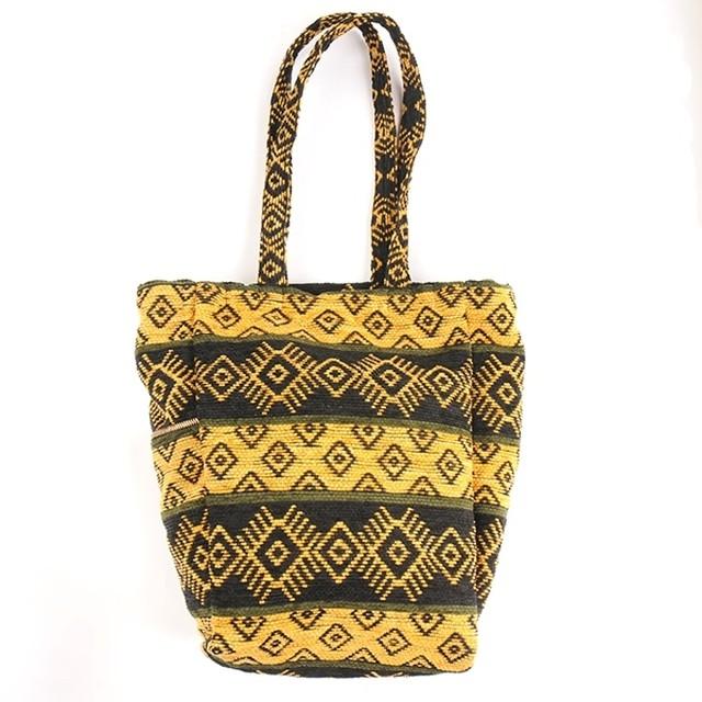 df17SM-IRFG01 DESIGN TOTE BAG (yellow)