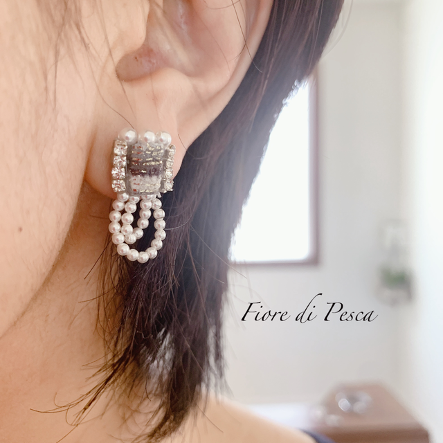 Beatrice Pierce(Earing) silver S