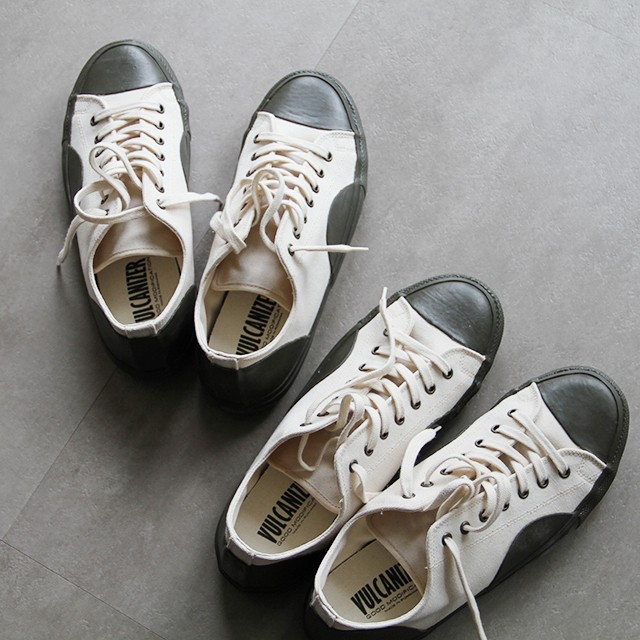 VULCANIZER  【 mens 】canvas low sneakers