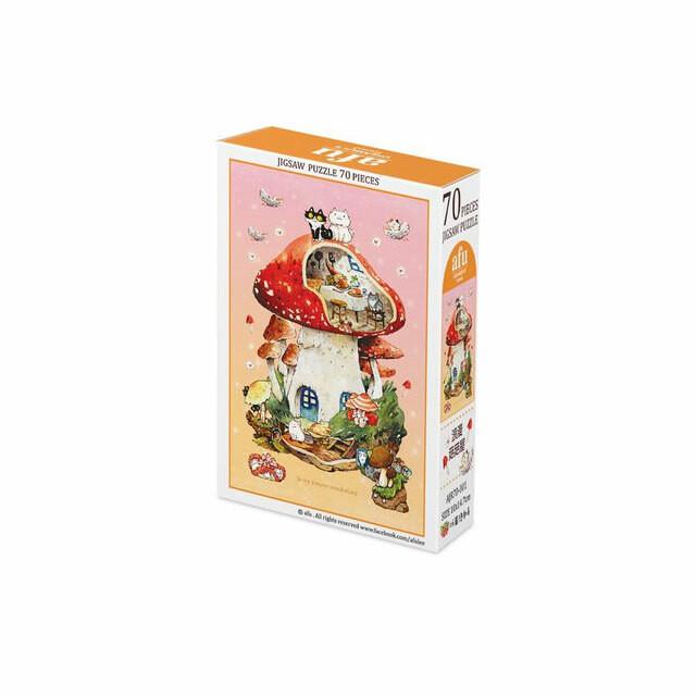 ジグソーパズルA -浪漫菇菇屋(70ピース)