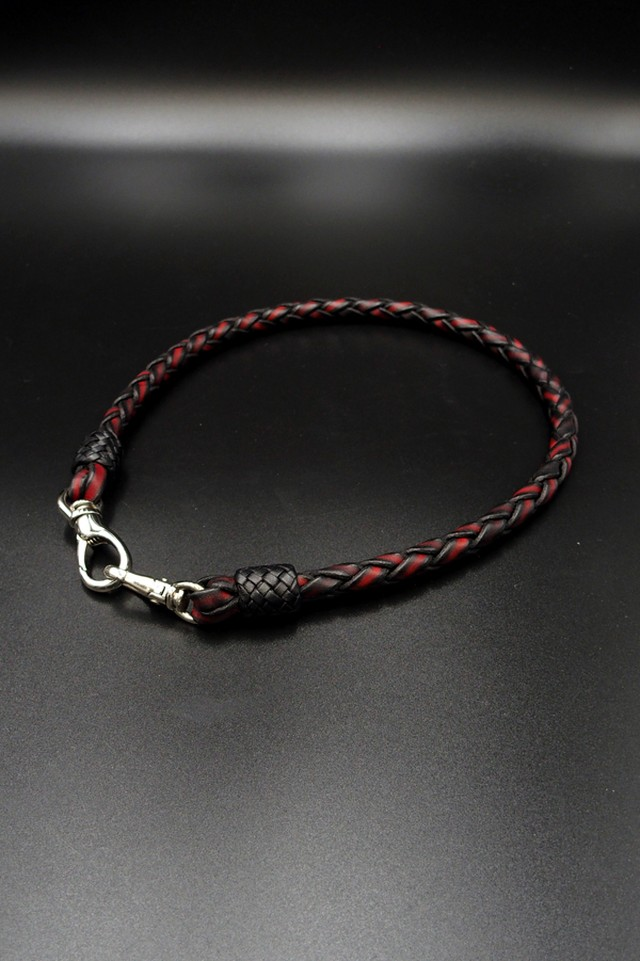Item No.0034 :Wallet Rope/Hand dye Red