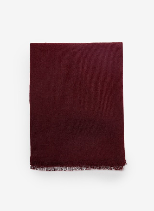 PLAIN COLOR COTTON FOULARD