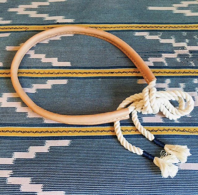 MADE SOLID rope belt