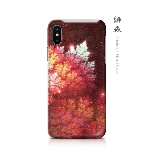 緋森 - 和風 iPhoneケース