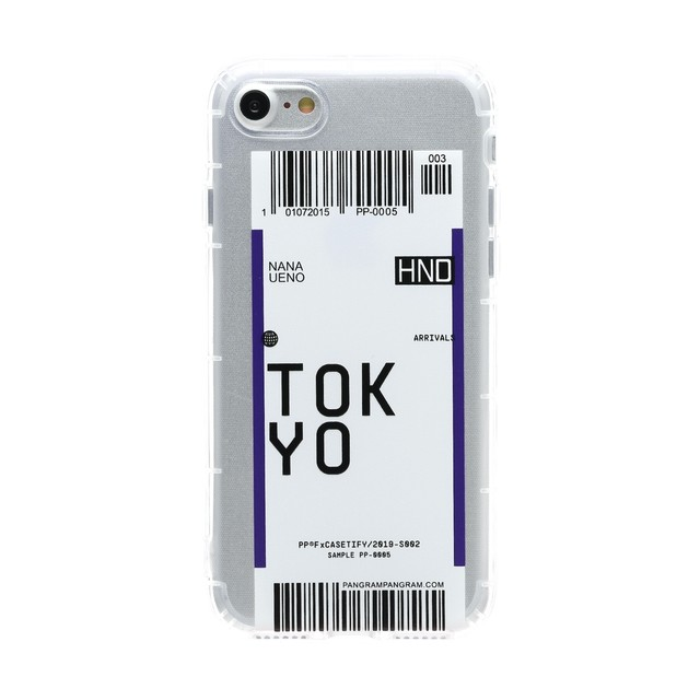 iPhone ケース 韓国 チケットデザインクリアケース TOKYO 個性的 クリア 透明 シンプル  ケース 可愛い おしゃれ  iPhone7/8 iPhoneX/Xs iPhoneXR iPhoneXsMAX iPhone11 iPhone11Pro iPhone11ProMAX スマホケース 携帯ケース