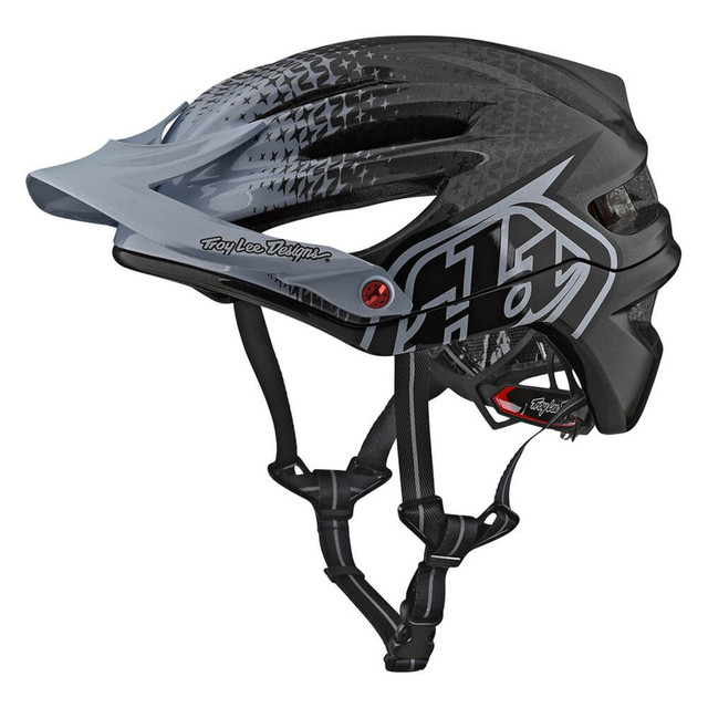 Troy Lee Designs トロイリーデザイン / D3 CARBON MIDNIGHT HELMET MIPS / BLACK