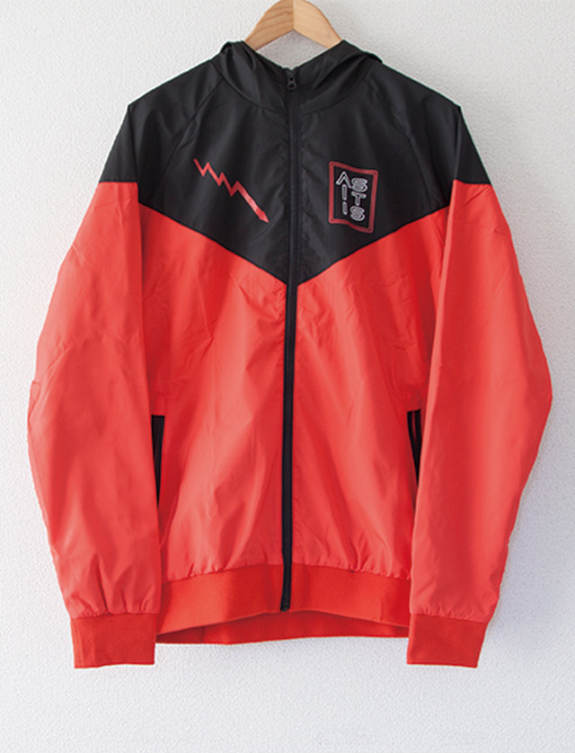 【AS IT IS】Bolt Windbreaker (Red/Black)