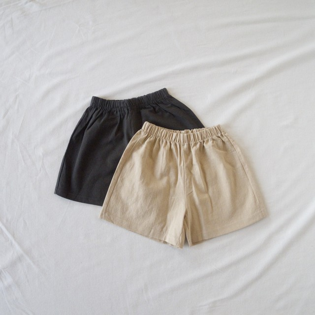 Simple short pants (2color)