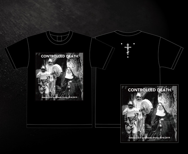 (9/23ON SALE)CONTROLLED DEATH - Selected Evil and Death Works 2018-2019(CD+Tshirt)