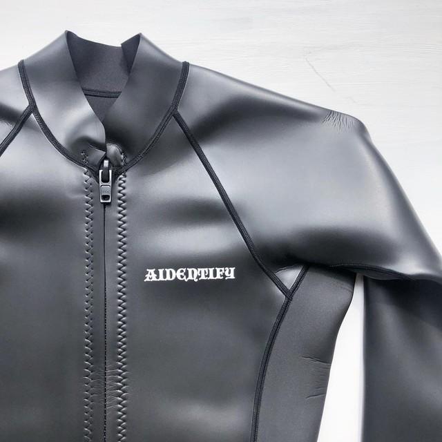 "AIDENTIFY ""1mm Skin Front Zip Jacket"" アイデンティファイ""1ミリスキンフロントジップジャケット"""