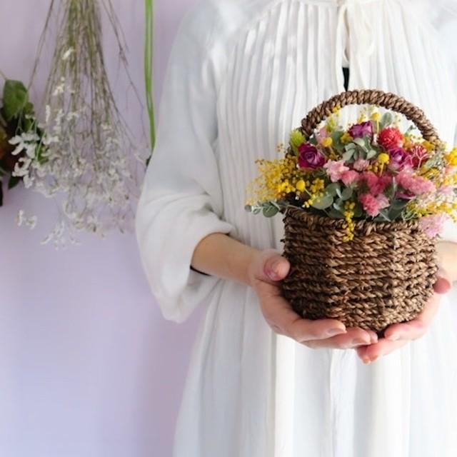 order flower baskets(オーダーフラワーバスケット)