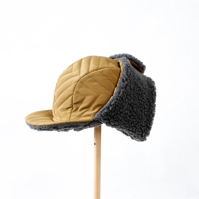 michirico cap (カーキ) (M/L)[MR21AW-27]