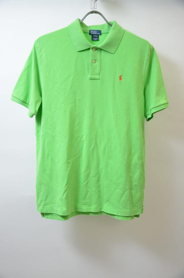 RL BOYS ラルフローレン ボーイズ ONEPOINT POLO SHIRT ワンポイント ポロシャツ GRN グリーン400603190602