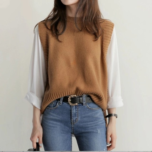 Neck Casual Knit ♥