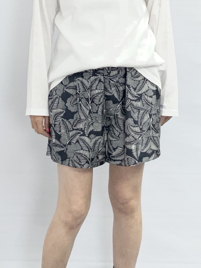 【BANANATIME】BOXER SHORTS: PARASISE FOUND BLACK