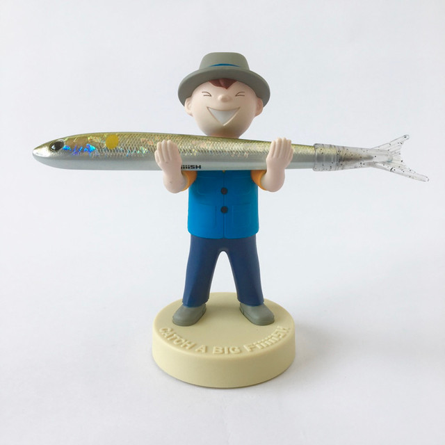 ペンホルダー Fish Boy(Blue Vest)|Pen Holder