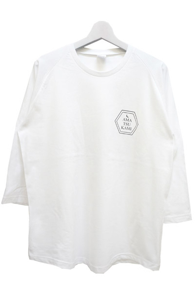 「明鏡止水」 Long T-shirts (White)