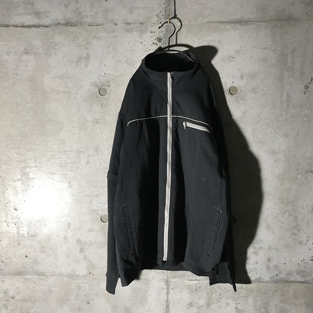 [used]2way cool black ZIP