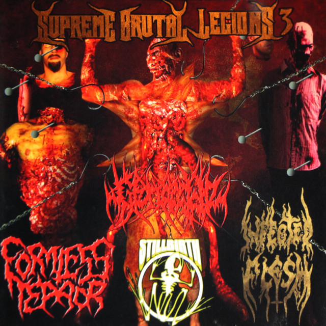 『SUPREME BRUTAL LEGIONS VOL. 3』COMP-CD