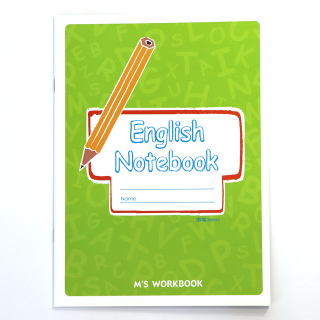 【English Notebook(6mm)
