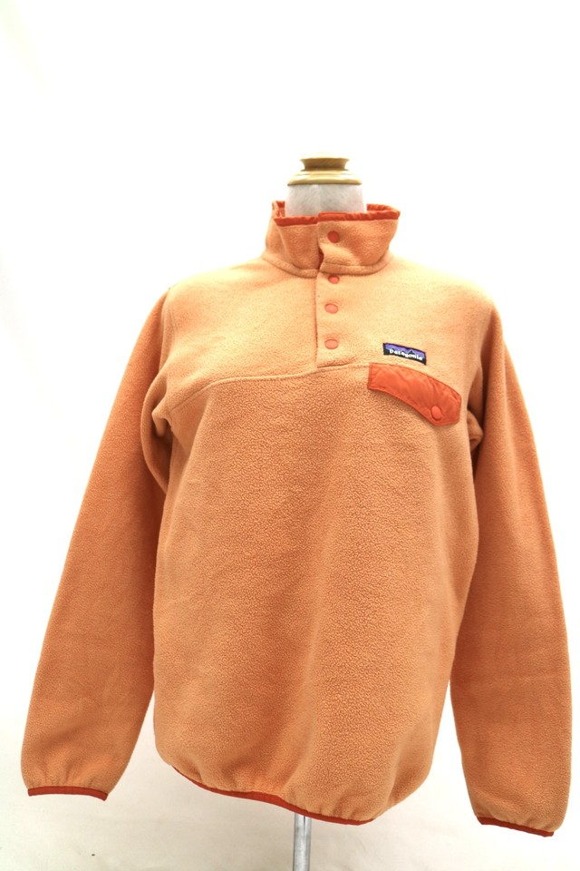 "Patagonia ""SYNCHILLA"" snapT  orange【0123】"